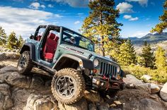 Available as a two-door Wrangler or four-door Wrangler Unlimited, Jeep's Rubicon 10th Anniversary Edition is the most capable Wrangler ever produced. Based on the Rubicon model, it is available with a standard six-speed manual or available five-speed automatic transmission mated to a Pentastar 3.6-liter V-6 engine producing...