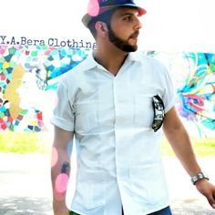 Vintage style for the modern man. Say Hola to the four pocket Y.A.Bera Guayabera shirt. This kind of cool last forever.                    ✌ YABERA ✌   modern art + iconic shirt = Y.A.Bera Clothing  View the collection at www.yaberaclothing.com  #yaberaclothing #menswear #gq #shirt #cubano #cigar #latino #miami #fashion #mensfashion #mensstyle #menswear #gentleman #gentlemen #miamibeach #miamilife #guayabera #dapper #handsome #designer #fashionblog #cigar #stylish #inspiration #patterns…