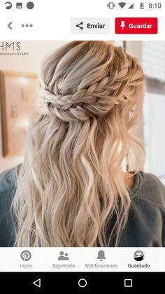 Best Wedding Hairstyles, Cute Hairstyles For Short Hair, Easy Hairstyles, Short Hair Styles, Short Haircuts, Bohemian Hairstyles, Graduation Hairstyles, Teenage Hairstyles, Boho Hairstyles Medium