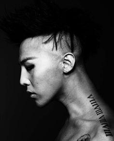 GD Shoulder Tattoo