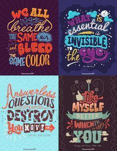 Typography Mania #276 | Abduzeedo Design Inspiration