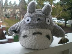 Crimp Chimps Totoro Stuffed Animal Chalk Bag by CrimpChimps