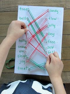 Rhyming Activity - play and learn activity