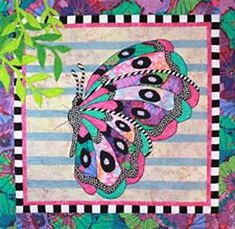 Quilt Inspiration: Butterfly Quilts by Debra Gabel