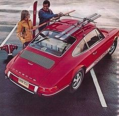 "Ski Porsche - ""Form has to follow function…""- Ferdinand Alexander Porsche 1969, Porsche 911t."