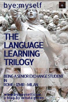 bye:myself: THE LANGUAGE LEARNING TRILOGY - I don't claim to be an A-student....
