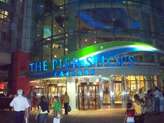 Atlantic City Pier Shops at Ceasars with indoor water show - For a listing of restaurants and shops: http://www.thepiershopsatcaesars.com/