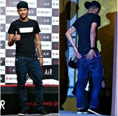 Neymar in Japan Brazilian Soccer Players, Neymar Jr, Best Player, Barcelona, Husband, Hero, Japan, Life, Barcelona Spain