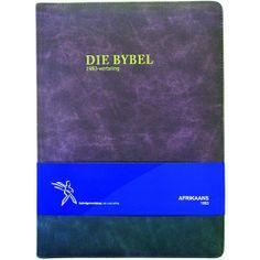 Die Bybel Afrikaans (1983) Groot Druk (KunsLeer). Nuwe leservriendelike uitleg... Afrikaans, Large Prints, Bible, Biblia, The Bible