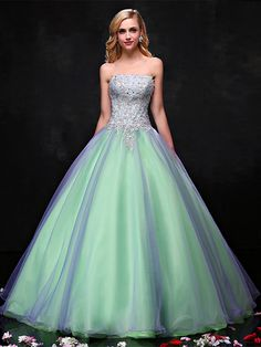 Gorgeous  Ball Gown Dress. You will be the queen in the party.