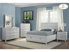 Shop for Homelegance Queen Platform Bed With Footboard Storages, 2262W-1, and other Bedroom Beds at Tyndall Furniture Galleries, INC in Charlotte, North Carolina. The clean lines of contemporary style are given new life in the Zandra Collection. Curves dominate the design of each case piece with the unique shape of the drawer fronts.