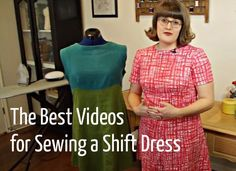 The Best Videos to Learn How to Sew a Shift Dress - Craftfoxes