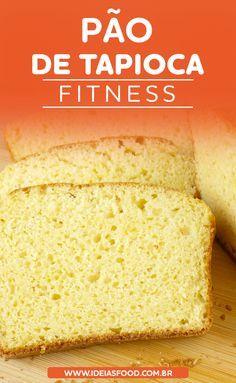 Quer Aprender a Preparar uma Deliciosa Receita de Pão de Tapioca Fit? Clique neste Pin e Bom Apetite! Best Banana Bread, Banana Bread Recipes, Tapioca Fit, Gluten Free Recipes, Healthy Recipes, Good Food, Yummy Food, No Carb Diets, Sin Gluten