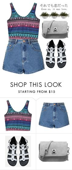 """""""Aztec"""" by m-zineta ❤ liked on Polyvore featuring Glamorous and Crate and Barrel"""