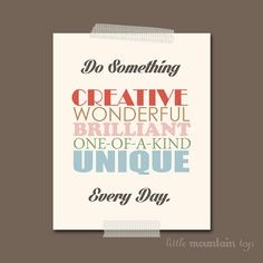 #creative #wonderful #oneofakind #unique #quote #quotes #beautifulquote