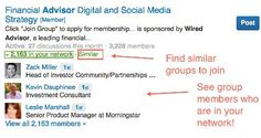 awesome How to Network Using LinkedIn Groups |