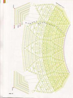 Blusa verde - pode ser tecida em tamanho até 52.