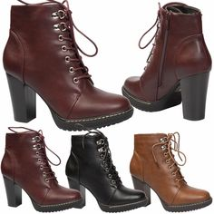 44a606ac5a1  inspiration  shoes  fashion  womensshoes  boots Block Heel Ankle Boots