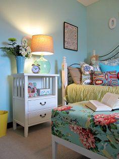 Little Girls room on a budget