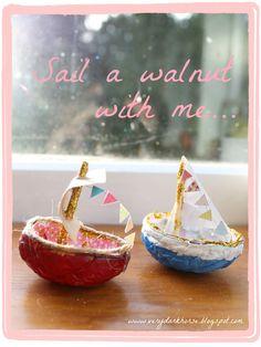 the golden adventures of...:  My Walnut Boat
