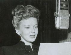 Ida Lupino on CBS radio, 1940s