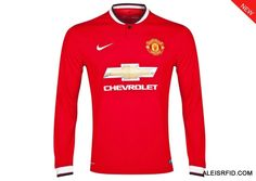 Newest Manchester United  Shirt LS Home Red 2014/15-enjoy 10% off by shop over £100.Discount Code:cutoff10%.-http://www.aleisrfid.com/manchester-united-shirt/newest-manchester-united-shirt-ls-home-red-2014-15.html
