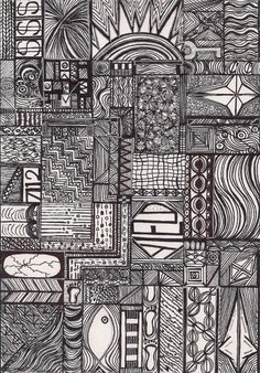 Original Drawing, Ink Drawing, Abstract Art, Doodle Art, Christian Art, Black and White Ink Drawing, OOAK
