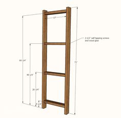 Ana White   Easy, Economical Garage Shelving from 2x4s - DIY Projects