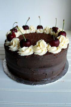 vegan black forest cake   The Baking Fairy