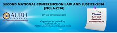 NCLJ 2014, Second National Conference on Law and Justice Event Date: Repeats every day until Sun Sep 28 2014 . Sat, 2014-09-27 Sun, 2014-09-28 College / Institute: Auro University of Hospitality and Management, Surat - Indcareer