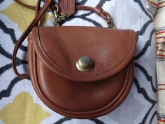 REDUCED Vintage Small Coach Cross Body Bag