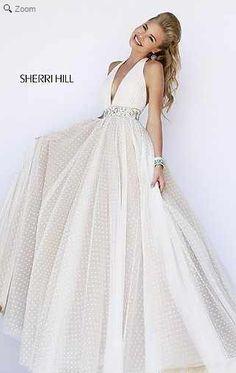 Sherri Hill Halter Dress