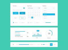 25 templates, UI Kit et mockups gratuits en PSD pour finir le mois d'Avril   BlogDuWebdesign