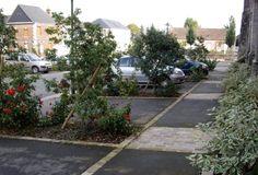 Centre-Bourg, 2 places et un jardin   Feuille à Feuille