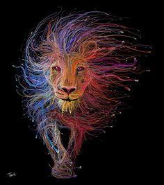 The Lion of Lyon (for Lyon Expo 2015) on Wacom Gallery
