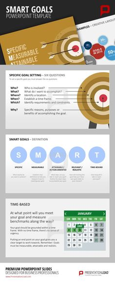 1000 images about smart goals powerpoint templates on pinterest goals template tool box. Black Bedroom Furniture Sets. Home Design Ideas