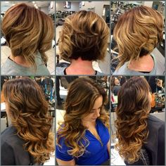 From Celino Pineda Forgot to take pictures . We're pretty Hair Color And Cut, Cool Hair Color, Beauty Tips, Beauty Hacks, Ombre Color, Amazing Hair, Hair Art, Hair Ideas, Caramel