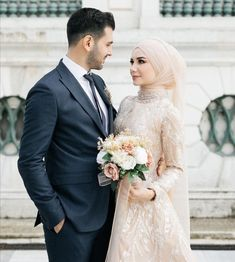 Wedding Hijab, Lace Wedding, Wedding Dresses, Couple Photography, Couples, Fashion, Bride Dresses, Moda, Bridal Gowns