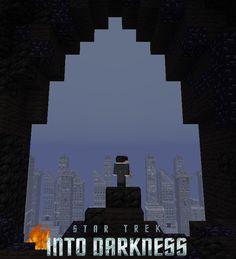 Pôsteres de filmes recriados em Minecraft