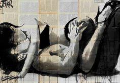 """Saatchi Art Artist Loui Jover; Drawing, """"Lust"""""""