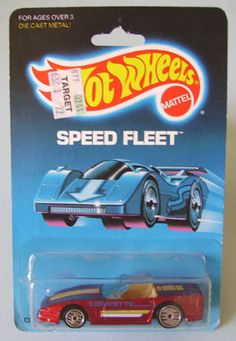 "Hot Wheels ""Custom Corvette"" Vettes"