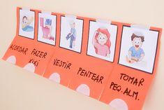 Como fazer um quadro de rotinas para o seu filho - Conxita Maria - A Arrumadinha | Organização
