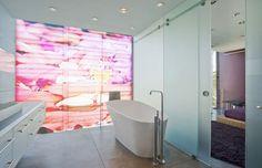 Alex Deiser, Pool of Reflection picturer trykt på glas, Alexander Deiser, Glas print Glass Printing, Reflection, Bathroom, Printed, Home, Washroom, Full Bath, Prints, Bath