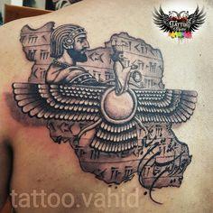Iran tattoo