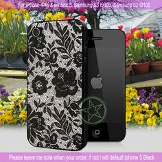 Lace Special - iPhone 4 / iPhone 4S / iPhone 5 / Samsung S2 / Samsung S3 / Samsung S4 Case Cover