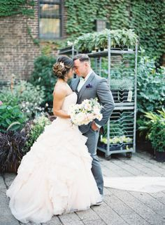 Romantic Autumn Wedding at The Foundry: http://www.stylemepretty.com/2014/09/08/romantic-autumn-wedding-at-the-foundry/ | Photography: Jen Huang - https://jenhuangblog.com/