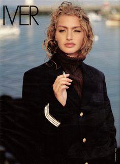 ☆ Michaela Bercu | Photography by Friedemann Hauss | For Elle Magazine France | November 1991
