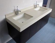 Concrete Vanity Tops -Trueform Concrete Custom Work
