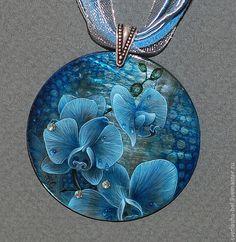 Кулоны, подвески ручной работы. Ярмарка Мастеров - ручная работа Орхидеи. Handmade.