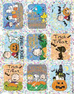 Peanuts Halloween Sparkle Stickers by Eureka $2.29